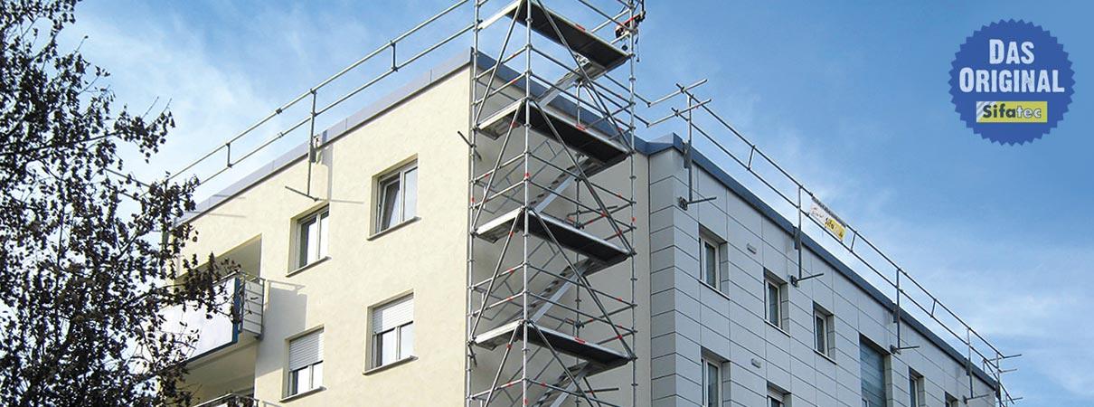 Absturzsicherungen und Dachrandsicherungen