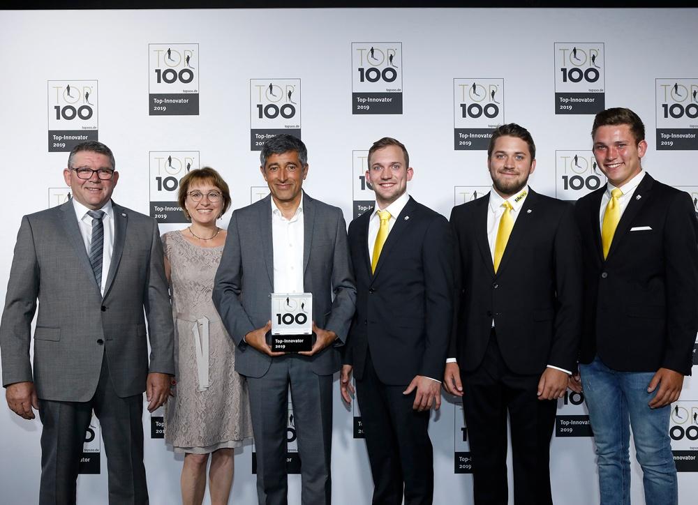 Sifatec GmbH gehört zu den 100 innovativsten mittelständischen Unternehmen in Deutschland